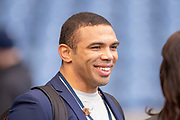 Bryan Habana before the Heineken Champions Cup quarter-final match between Edinburgh Rugby and Munster Rugby at BT Murrayfield Stadium, Edinburgh, Scotland on 30 March 2019.