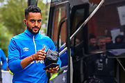 Everton striker Theo Walcott (11) arrives ahead of the Premier League match between Crystal Palace and Everton at Selhurst Park, London, England on 27 April 2019.