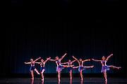 Santa Clara University's Department of Theatre & Dance performs during the Choreographer's Gallery dress rehearsal at Louis B. Mayer Theatre at Santa Clara University in Santa Clara, California, on November 30, 2016. (Stan Olszewski/SOSKIphoto)