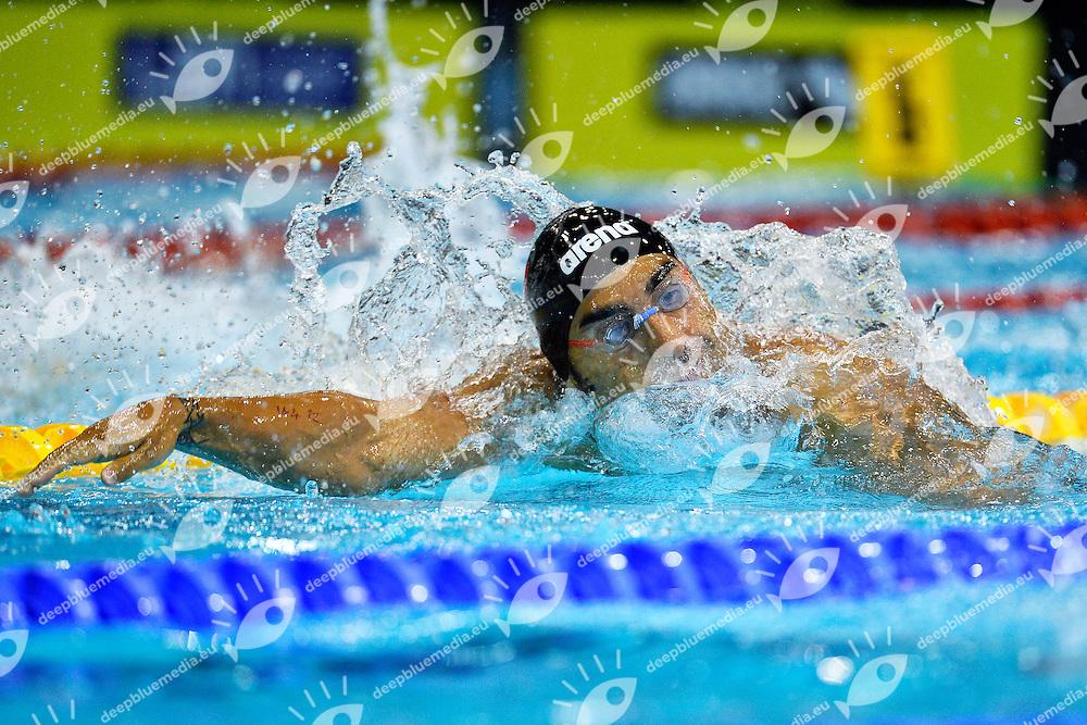 Filippo Magnini Italia 200m Freestyle Men<br /> Swimming<br /> 32nd LEN European Championships  <br /> Berlin, Germany 2014  Aug.13 th - Aug. 24 th<br /> Day07 - Aug. 19<br /> Photo Andrea Staccioli/Deepbluemedia/Insidefoto