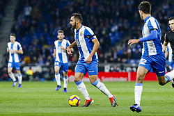 December 8, 2018 - Barcelona, Catalonia, Spain - RCD Espanyol forward Leo Baptistao (11) during the match RCD Espanyol against FC Barcelona, for the round 15 of the Liga Santander, played at RCD Espanyol Stadium  on 8th December 2018 in Barcelona, Spain. (Credit Image: © Mikel Trigueros/NurPhoto via ZUMA Press)