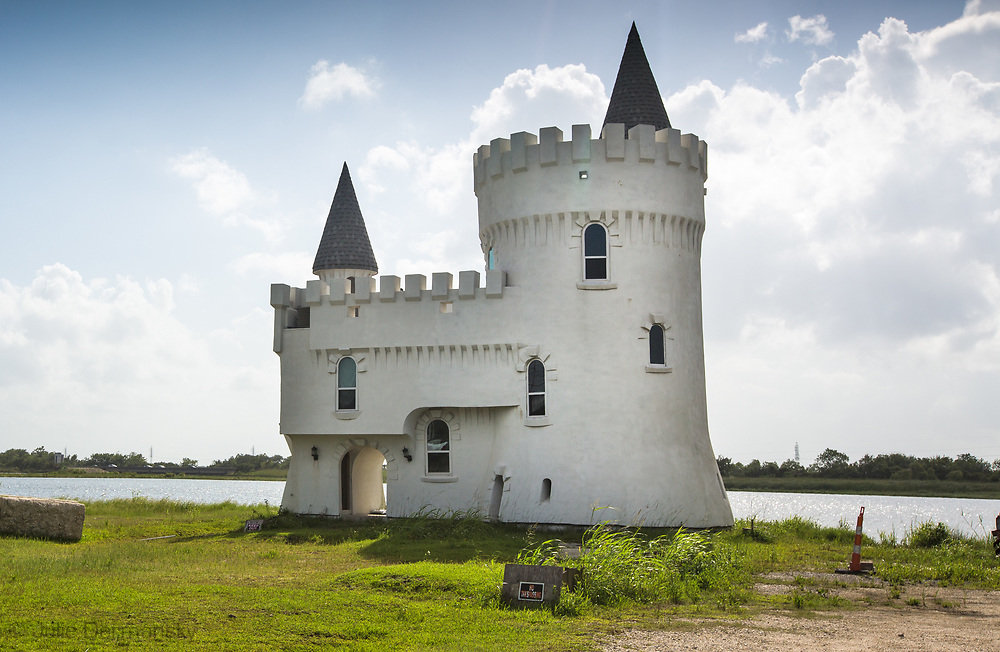 White Castle,  known as Fisherman's Castle in Slidell on Irish Bayou can be seen from Interstate 10.