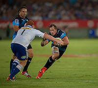 LOFTUS VERSVELD , SOUTH AFRICA - February 14: Arno Botha of the Bulls during the Vodacom Super Rugby match between the Bulls and the Stormers played at Loftus Versveld, Pretoria, South Africa. (Photo by Anton Geyser/ Rugby 15)