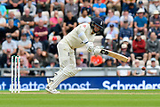 Sam Curran of England batting during the first day of the 4th SpecSavers International Test Match 2018 match between England and India at the Ageas Bowl, Southampton, United Kingdom on 30 August 2018.