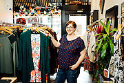 Business portrait of Rita Hudson owner of Union Rose a clothing Boutique in the Montavilla East Tabor Business Association