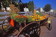 Amish roadside produce stand, Lancaster Co., PA