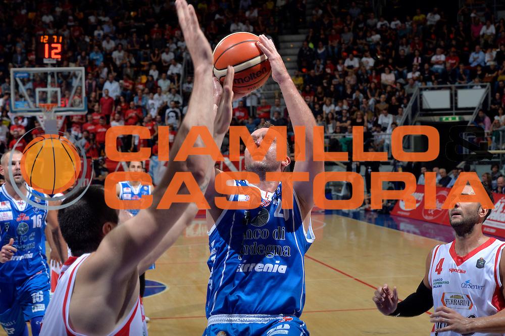 Dusko Savanovic<br /> Grissin Bon Pallacanestro Reggio Emilia - Banco di Sardegna Dinamo Sassari<br /> Lega Basket Serie A 2016/2017<br /> Bologna, 08/10/2016<br /> Foto Ciamillo-Castoria