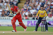 Jos Buttler during the NatWest T20 Blast Semi Final match between Hampshire County Cricket Club and Lancashire County Cricket Club at Edgbaston, Birmingham, United Kingdom on 29 August 2015. Photo by David Vokes.
