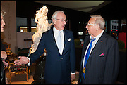 LORD CHADLINGTON (L), MIKE GOLDING (R)  at the preview of LAPADA Art and Antiques Fair. Berkeley Sq. London. 23 September 2014.