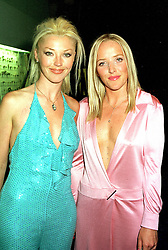 Left to right, social figure MISS TAMARA BECKWITH and<br />  her sister MISS CLARE BECKWITH, at a ball in London <br /> on 8th June 2000.OFB 57<br /> © Desmond O'Neill Features:- 020 8971 9600<br />    10 Victoria Mews, London.  SW18 3PY <br /> www.donfeatures.com   photos@donfeatures.com<br /> MINIMUM REPRODUCTION FEE AS AGREED.<br /> PHOTOGRAPH BY DOMINIC O'NEILL