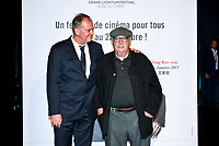 Christophe Carion &amp; Jean Becker attend the lumiere prize ceremony during 9th Film Festival in Lyon, October 20, 2017<br /> 9th Lyon Film Festival - Lumiere Award 2017