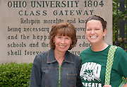 17660Mom's Weekend 2006 Candids on Campus ...Maggie & Ashley Arquilla
