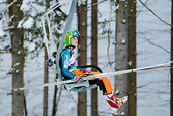 ROGELJ Spela of Slovenia during 11th Women FIS Ski Jumping World Cup competition in Planica replacing Ljubno  on January 25, 2014 at HS95, Planica, Slovenia. Photo by Vid Ponikvar / Sportidaa