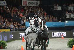 Dobrovitz Jozsef, (HUN)<br /> FEI World Cup Driving<br /> DB Schenker German Master<br /> Stuttgart - German Masters 2015<br /> © Hippo Foto - Stefan Lafrentz