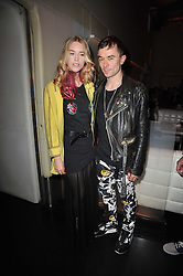 MARY CHARTERIS and ROBBIE FURZE at a party to launch Esquire magazine's June issue hosted by new editor Alex Bilmes at Sketch, Conduit Street, London on 5th May 2011.