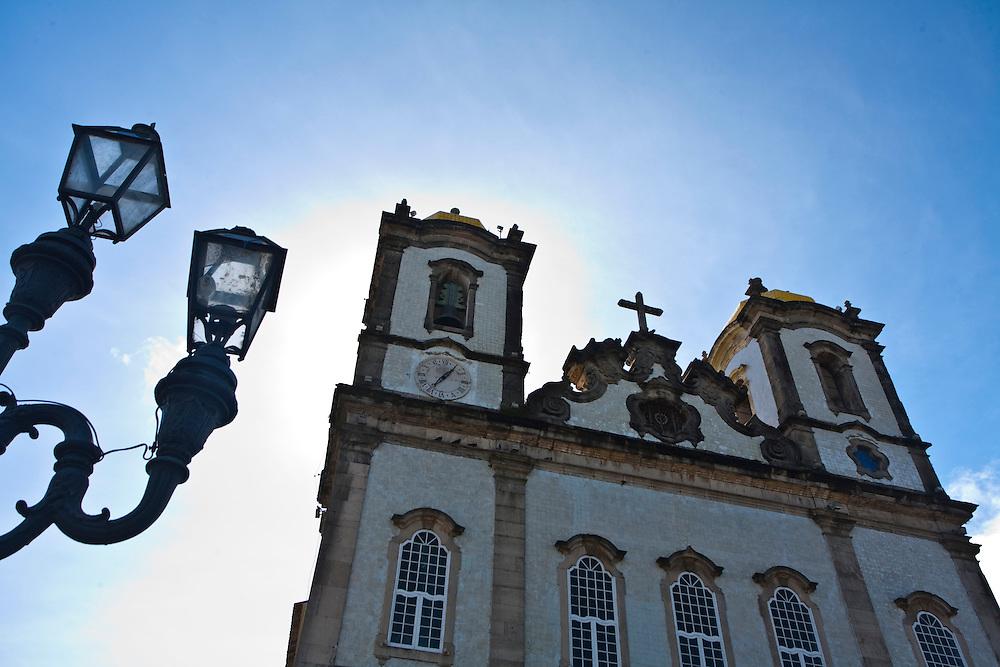Salvador_BA, Brasil...Fachada da Igreja de Nosso Senhor do Bonfim em Salvador, capital da Bahia...Facade of the Church of Nosso Senhor do Bonfim in Salvador, Bahia capital...Foto: JOAO MARCOS ROSA / NITRO