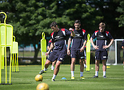Dundee&rsquo;s Darren O&rsquo;Dea during  Dundee FC pre-season training at Dundee University Grounds, Riverside<br /> <br />  - &copy; David Young - www.davidyoungphoto.co.uk - email: davidyoungphoto@gmail.com
