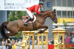 Duguet Romain, (FRA), Quorida de Treho<br /> Individual Final Competition<br /> FEI European Championships - Aachen 2015<br /> © Hippo Foto - Dirk Caremans<br /> 23/08/15