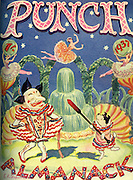 Front cover of Punch Almanack Magazine - 1937 , by EH Shepard..