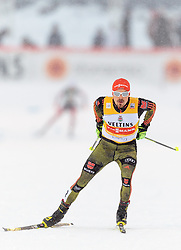 20.02.2016, Salpausselkae Stadion, Lahti, FIN, FIS Weltcup Nordische Kombination, Lahti, Team Sprint, Langlauf, im Bild Fabian Riessle (GER) // Fabian Riessle of Germany competes during Cross Country Team Sprint Race of FIS Nordic Combined World Cup, Lahti Ski Games at the Salpausselkae Stadium in Lahti, Finland on 2016/02/20. EXPA Pictures © 2016, PhotoCredit: EXPA/ JFK