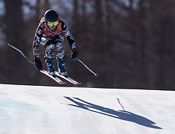 February 17, 2018 - PyeongChang, South Korea - SARAH SCHLEPER of Mexico during Alpine Skiing: Ladies Super-G at Jeongseon Alpine Centre at the 2018 Pyeongchang Winter Olympic Games. (Credit Image: © Patrice Lapointe via ZUMA Wire)