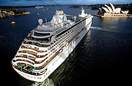Copyright JIm Rice © 2013. Crystal serenity . <br /> Sydney harbour