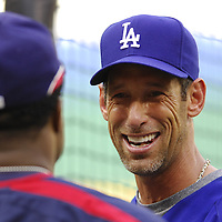 30 May 2007:  Los Angeles Dodgers left fielder Luis Gonzalez (26) during batting practice prior to the game against the Washington Nationals.  The Dodgers defeated the Nationals 5-0 at RFK Stadium in Washington, D.C.  ****For Editorial Use Only****