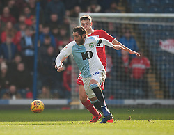 Danny Graham of Blackburn Rovers (L) and Dael Fry of Middlesbrough in action - Mandatory by-line: Jack Phillips/JMP - 17/02/2019 - FOOTBALL - Ewood Park - Blackburn, England - Blackburn Rovers v Middlesbrough - English Football League Championship