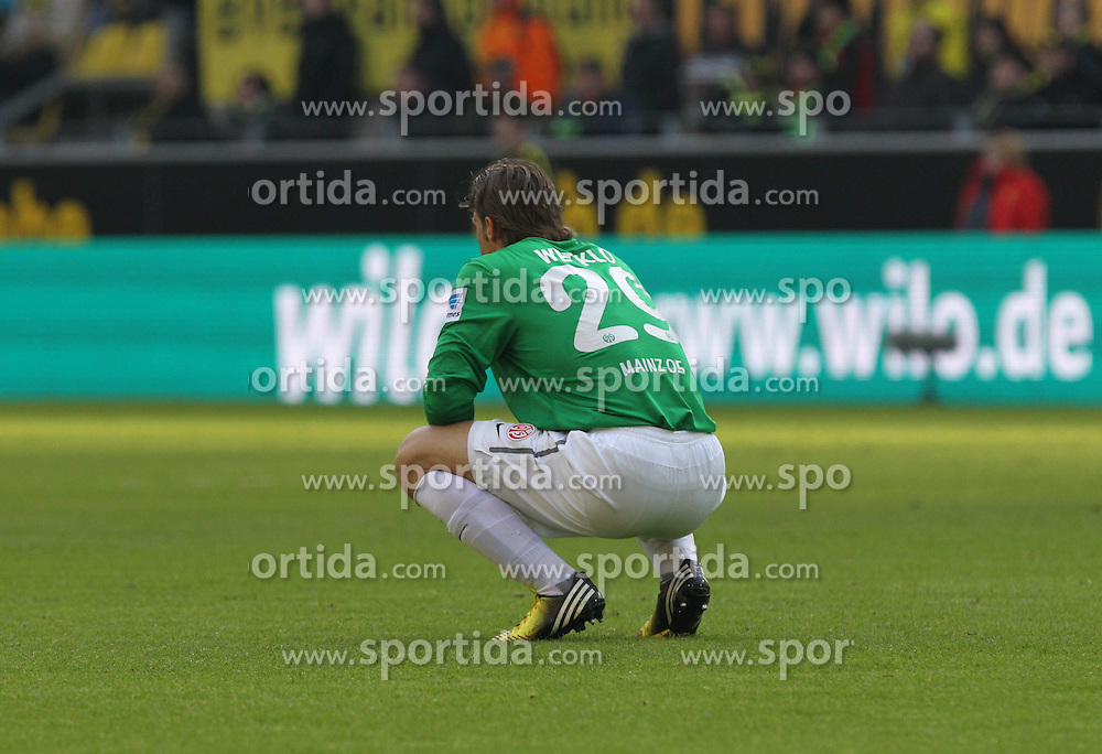 20.04.2013, Signal Iduna Park, Dortmund, GER, 1. FBL, Borussia Dortmund vs 1. FSV Mainz 05, 30. Runde, im Bild Torwart Christian WETKLO #29 (FSV Mainz 05)/ Einzelbild,,/ // during the German Bundesliga 30 th round match between Borussia Dortmund and 1. FSV Mainz 05 at the Signal Iduna Park, Dortmund, Germany on 2013/04/20. EXPA Pictures © 2013, PhotoCredit: EXPA/ Eibner/ Schueler..***** ATTENTION - OUT OF GER *****