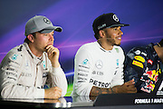 July 21-24, 2016 - Hungarian GP, Lewis Hamilton (GBR), Mercedes, Nico Rosberg  (GER), Mercedes
