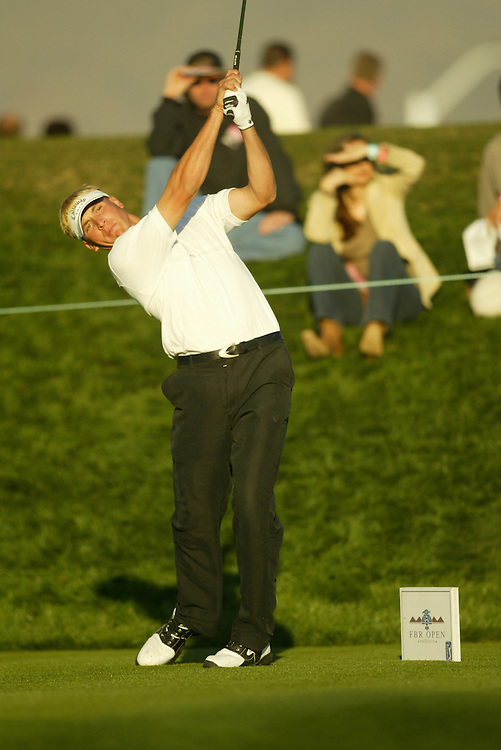 Ricky Barnes..2004 FBR Open, Phoenix.TPC of Scottsdale.First Round.Thursday, January 29 2004..photograph by Darren Carroll