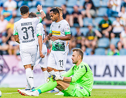 17.07.2019, Kufstein Arena, Kufstein, AUT, Testspiel, Borussia Moenchengladbach vs Istanbul Basaksehir FC, im Bild Torjubel Borussia Mönchengladbach zum 5:1 durch Keanan Bennetts (Borussia Mönchengladbach) // during a test match for the upcoming Season between Borussia Moenchengladbach and Istanbul Basaksehir FK at the Kufstein Arena in Kufstein, Austria on 2019/07/17. EXPA Pictures © 2019, PhotoCredit: EXPA/ Stefan Adelsberger