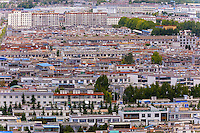 Cityscape, Lhasa, Tibet (Xizang), China.