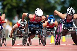 WOLF Edith, SUI, 1500m, T54, 2013 IPC Athletics World Championships, Lyon, France
