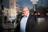 DEU, Deutschland, Germany, Berlin,06.02.2018: Kanzleramtsminister Peter Altmaier (CDU) kommt zu den Koalitionsverhandlungen zwischen CDU/CSU und SPD im Konrad-Adenauer-Haus.