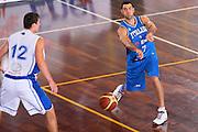DESCRIZIONE : Cagliari Torneo Internazionale Sardegna a canestro Italia Estonia <br /> GIOCATORE : Matteo Soragna <br /> SQUADRA : Nazionale Italia Uomini Italy <br /> EVENTO : Raduno Collegiale Nazionale Maschile <br /> GARA : Italia Estonia Italy Estonia <br /> DATA : 13/08/2008 <br /> CATEGORIA : Passaggio <br /> SPORT : Pallacanestro <br /> AUTORE : Agenzia Ciamillo-Castoria/S.Silvestri <br /> Galleria : Fip Nazionali 2008 <br /> Fotonotizia : Cagliari Torneo Internazionale Sardegna a canestro Italia Estonia <br /> Predefinita :