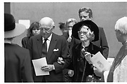Maureen Marchioness of Dufferin and Ava. Marquess of Dufferin and Ava memorial service. St. Margaret's, Westminster. 6 October 1988. © Copyright Photograph by Dafydd Jones 66 Stockwell Park Rd. London SW9 0DA Tel 020 7733 0108 www.dafjones.com