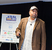 """John """"ColderICE"""" Lawson give his input on the pulse of e-commerce, mobile marketing, social media and all the latest tech.  Small Business Summit 2011 at Digital Sandbox in New York."""