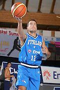 DESCRIZIONE : Bormio Torneo Internazionale Gianatti Italia Croazia <br /> GIOCATORE : Massimo Bulleri<br /> SQUADRA : Nazionale Italia Uomini <br /> EVENTO : Bormio Torneo Internazionale Gianatti <br /> GARA : Italia Croazia <br /> DATA : 01/08/2007 <br /> CATEGORIA : tiro<br /> SPORT : Pallacanestro <br /> AUTORE : Agenzia Ciamillo-Castoria/G.Cottini
