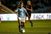 Manchester City forward Nikita Parris (17) during the FA Women's Super League match between Manchester City Women and Everton Women at the Sport City Academy Stadium, Manchester, United Kingdom on 20 February 2019.