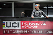 Jan Shippers form Progate at Round 6 of the 2019 UCI BMX Supercross World Cup in Saint-Quentin-En-Yvelines, France