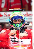 Grand prix de Bahraïn 2010..Circuit de shakir. 12 mars 2010..Premiere séance d'essai...Photo Stéphane Mantey/ L'Equipe. *** Local Caption *** massa (felipe) - (bre) -