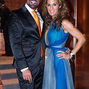 NLD/Amsterdam/20130907 - Modeshow najaar Mart Visser 2013, Maik de Boer en Quinty trustfull - van den Broek