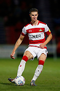 Ben Sheaf of Doncaster Rovers during the EFL Sky Bet League 1 match between Doncaster Rovers and Blackpool at the Keepmoat Stadium, Doncaster, England on 17 September 2019.