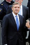 Aankomst van Kamerleden bij de Ridderzaal voor Prinsjesdag in Den Haag<br /> <br /> Op de foto :<br /> <br /> <br />  CDA-lijsttrekker Sybrand van Haersma Buma