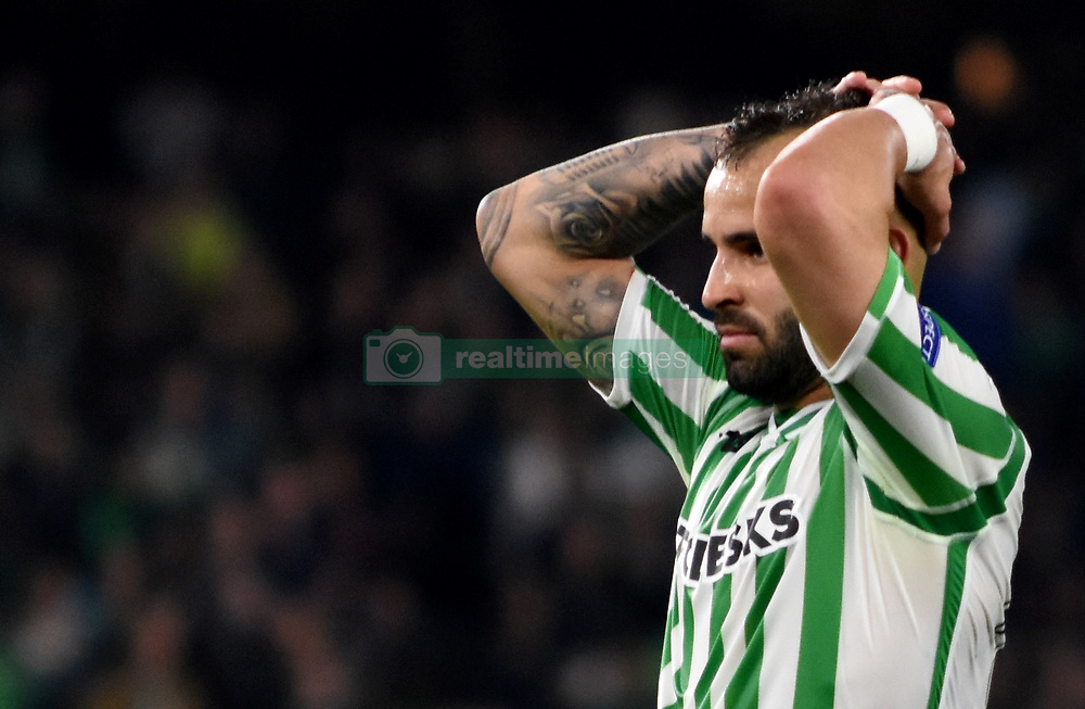 February 21, 2019 - Seville, Spain - Soccer player Jesse Rodriguez during the Europa League round of 32 second leg soccer match between Betis and Rennes at the Benito Villamarin stadium, in Seville, Spain, Thursday, Feb. 21, 2019. (Credit Image: © Gtres/NurPhoto via ZUMA Press)