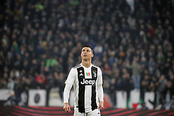 December 7, 2018 - Turin, Turin, Italy - Cristiano Ronaldo #7 of Juventus FC during the serie A match between Juventus FC and FC Internazionale Milano at Allianz Stadium on December 07, 2018 in Turin, Italy. (Credit Image: © Giuseppe Cottini/NurPhoto via ZUMA Press)