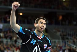 21.11.2015, Arena Zagreb, Zagreb, CRO, EHF CL, RK PPD Zagreb vs SG Flensburg Handewitt, Gruppe A, im Bild Luka Sebetic. // during the EHF Champions League, group A match between RK PPD Zagreb and SG Flensburg Handewitt at the Arena Zagreb in Zagreb, Croatia on 2015/11/21. EXPA Pictures © 2015, PhotoCredit: EXPA/ Pixsell/ Goran Stanzl<br /> <br /> *****ATTENTION - for AUT, SLO, SUI, SWE, ITA, FRA only*****