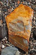 Rock, Upper Negro Island, Maine, US