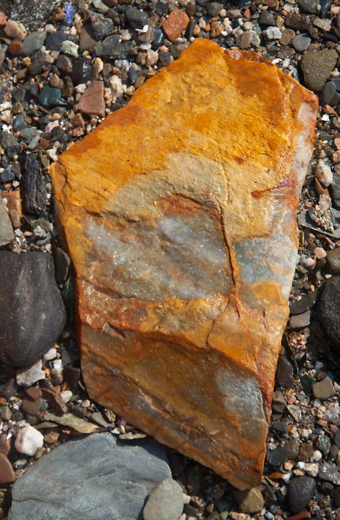 Rock, Upper Negro Island, Maine, US